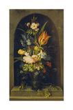 Flower Still Life in a Niche, 1627 Giclee Print by Rogier van der Weyden