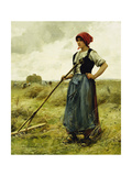 Harvest Time, 1890 Giclee Print by Julien Dupré