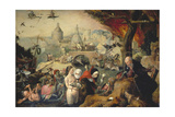 The Temptation of St. Anthony Giclee Print by Pieter Huys