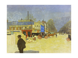 Place Clichy, 1901 Giclee Print by Felix Vallotton
