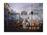 The Joust of the 14th Century, 1812 Giclee Print by Pierre Jean François Turpin
