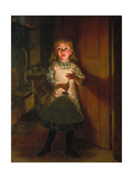 Who Is There, 1886 Giclee Print by Thomas Waterman Wood