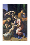Holy Family (Known as the Great Holy Family of Francois I,), 1518 Giclee Print by  Raffael