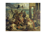 Crusaders Entering Constantinople on April 12th, 1204, 1840 Giclee Print by Eugène Delacroix