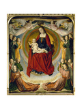 Coronation of the Virgin Giclee Print by Jean Hey