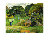 The Two Washerwomen, C. 1892 Giclee Print by Paul Serusier