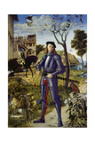 Portrait of a Knight, 1510 Giclee Print by Vittore Carpaccio