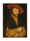 Portrait of a Young Man Giclee Print by Lucas Cranach the Elder