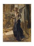 Angel Giclee Print by Fritz von Uhde