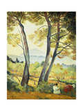 Summer Landscape in the South of France Prints by Henri Lebasque