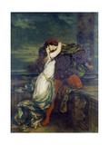 Romeo i Julia Wydruk giclee autor Vilhelm Hammershoi