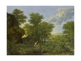 Spring, (The Earthly Paradise), 1660-1664 Giclee Print by Nicolas Poussin