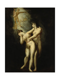 Expulsion from Paradise Giclee Print by Henry Fuseli
