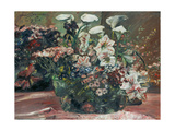 Flower Basket with Amaryllis and Callas, 1918 Giclee Print by Lovis Corinth