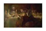 The Conspiracy of the Batavians under Claudius Civilis, C. 1661-62 Giclee Print by  Rembrandt van Rijn