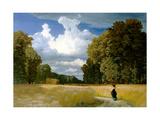 Harvest Time Giclée-tryk af Robert Zünd