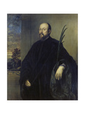 Portrait of a Painter with a Palm Branch, 1561 Giclee Print by  Titian