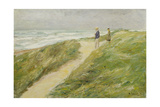 At the Beach of Katwijk, C. 1909 Giclee Print by Max Liebermann