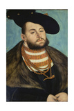 Portrait of John Frederick the Magnanimous, Elector of Ernestine of Saxony Giclee Print by Lucas Cranach the Elder