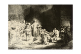 Christ Healing the Sick, 'The Hundred Guilder Print', C. 1649 Giclée-Druck von  Rembrandt van Rijn