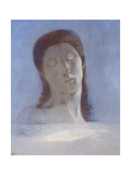 The Closed Eyes, 1890 Giclee Print by Odilon Redon