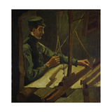 The Weaver Drieck Dekkers, 1884 Giclee Print by Vincent van Gogh
