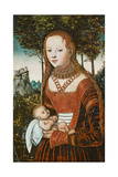 Mother with Child, C. 1525 Giclee Print by Lucas Cranach the Elder