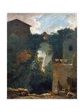 The Falls of Tivoli, 1760-1762 Reproduction procédé giclée par Jean-Honoré Fragonard