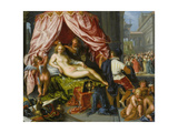 Allegory of Vanity, 1620 Giclee Print by Pieter Isaacsz