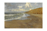 Strand Auf Sylt, Um 1905 Giclee Print by Fritz Overbeck