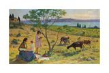 Pastoral (Bucolique), Ca. 1932 Giclee Print by Henri Martin