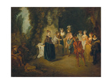 The French Comedy, after 1716 Prints by Jean Antoine Watteau