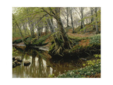 Spring Day at the Edge of the Woods, 1909 Giclee Print by Pedro Orrente