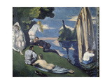 Pastoral (Or: Idyll), 1870 Giclee Print by Paul Cézanne