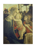 The Virgin Mary with Infant Christ and John Giclee Print by Sandro Botticelli