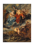 Medici-Zyklus: the Meeting of the King and Marie De Medici at Lyons, 9th November 1600 Giclee Print by Peter Paul Rubens