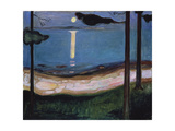 Moonlit Night, 1895 Reproduction procédé giclée
