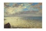 Sea Viewed from the Heights of Dieppe, 1852 Reproduction procédé giclée par Eugène Delacroix