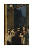 At the Cafe Giclee Print by Lesser Ury