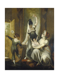 A Mother with Her Children in the Country, 1806-07 Giclee Print by Henry Fuseli