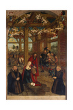 Adoration of the Shepherds, Epitaph for Caspar Niemeck, 1564 Giclee Print by Lucas Cranach the Younger