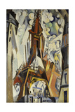 The Eiffel Tower, 1910 Giclee Print by Robert Delaunay