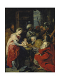 Adoration of the Magi, 1626-27 Giclee Print by Peter Paul Rubens