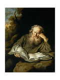 The Hermit, 1643 Giclee Print by Salvador Murillo
