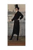 James Abbott Mcneill Whistler Auf Dem Widow's Walk in Der Naehe Seines Hauses Giclee Print by Walter Greaves
