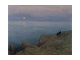 Alexander Pushkin at the Seashore, 1896 Giclee Print by Leonid Ossipowitsch Pasternak
