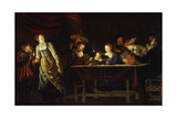 Evening Concert, Ca 1670 Giclee Print by Wolfgang Heimbach