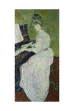 Mademoiselle Gachet Playing the Piano, 1890 Giclee Print by Vincent van Gogh