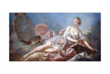 Personification of Painting Impression giclée par Jean-Honoré Fragonard