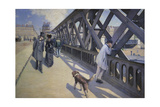 The Europe Bridge, 1876 Giclee Print by Gustave Caillebotte
